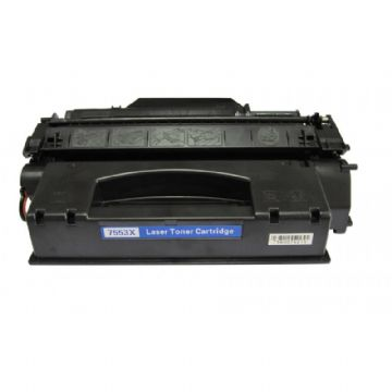 HP 53X Black High Capacity Refurbished Toner Cartridge (Q7553X)